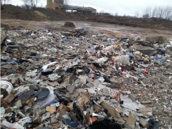 Atliekos Kauno rajone