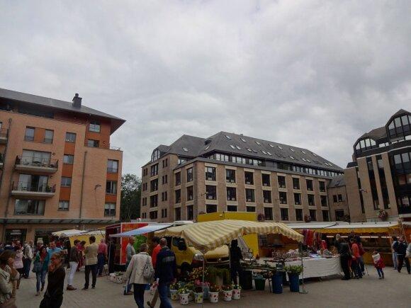 Louvain-la-Neuve studentų miestelis