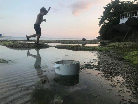 Filipinuose gyvenanti lietuvių šeima keliaujančius tautiečius buria kilniam tikslui
