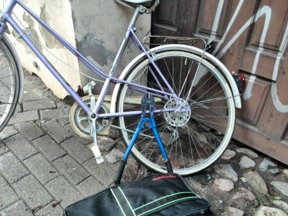 Nusikaltimo vietoje sučiupti vilniečiai įtariami daugybės dviračių vagystėmis