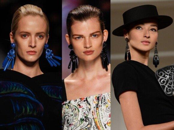 """Etro"" ir ""Ralph Lauren"" modeliai"