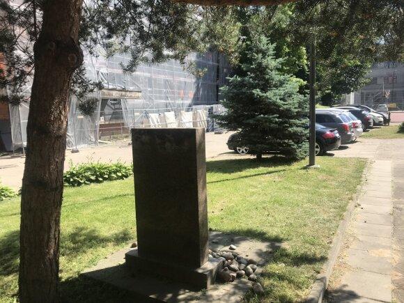 """Buvusi """"Lietūkio"""" garažų teritorija, kur 1941 metais vyko masinės žudynės"""