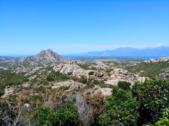 Kelionė šiaurine Korsikos dalimi