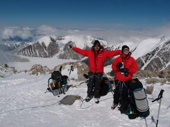 Darius Vaičiulis įgyvendina savo svajonę – kopia į viršukalnę Antarktidoje
