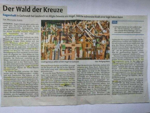 Kryžių miškas Bavarijoje