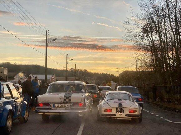 Monte Karlo ralyje startavo Karolis Raišys
