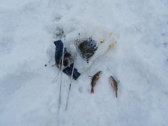 Aplinkosaugininkai tikrino žvejus