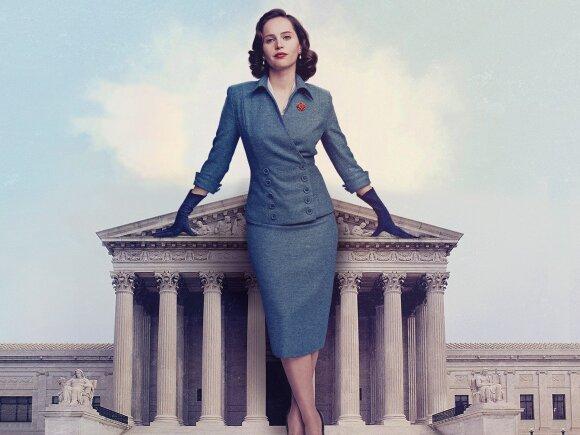 """Filmas """"Nes ji yra moteris"""", Felicity Jones"""