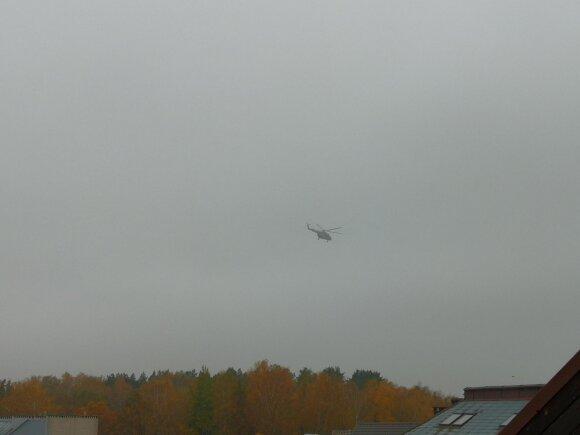 Pirmojo donoro organai buvo atgabenti sraigtasparniu.