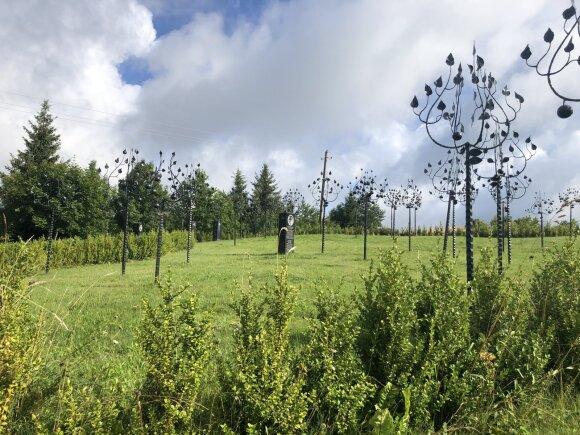 Litvakų atminimo sodas (Žydų kultūros paveldo kelio asociacijos nuotr.)