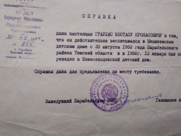 Документы Костаса Грауслиса