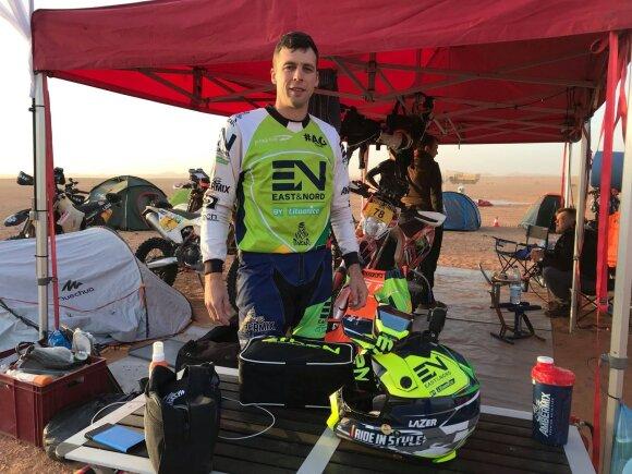 Arūnas Gelažninkas apie Dakarą Saudo Arabijoje: pirmiausia sieksiu pagerinti savo rezultatą