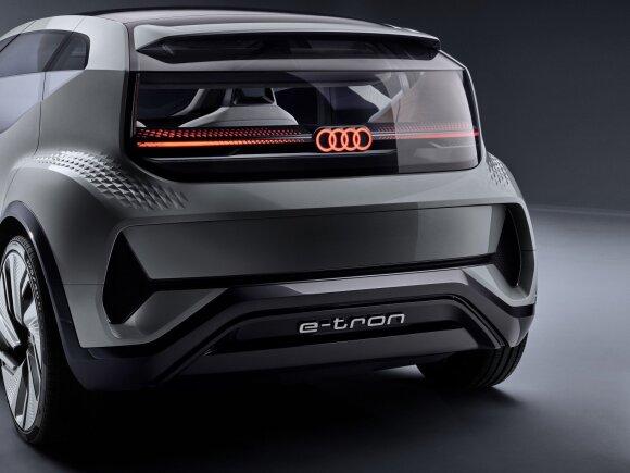 """Audi"" Šanchajuje pristatė koncepcinį automobilį AI:ME"