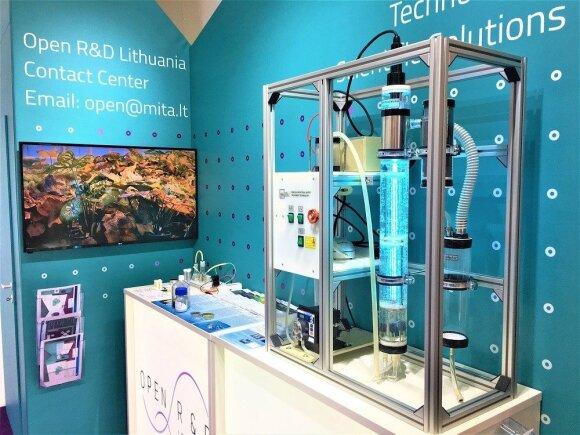 """Lietuvos delegacija dalyvauja pasaulinėje pramonės technologijų parodoje """"Hannover Messe"""""""