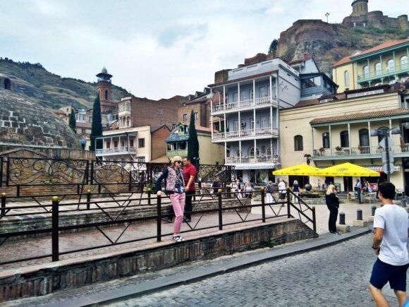 Šioje vietoje prasidėjo Tbilisio istorija