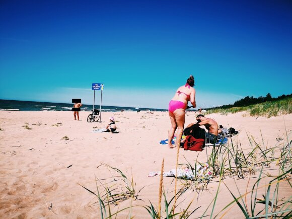 Palangos vyrų paplūdimys