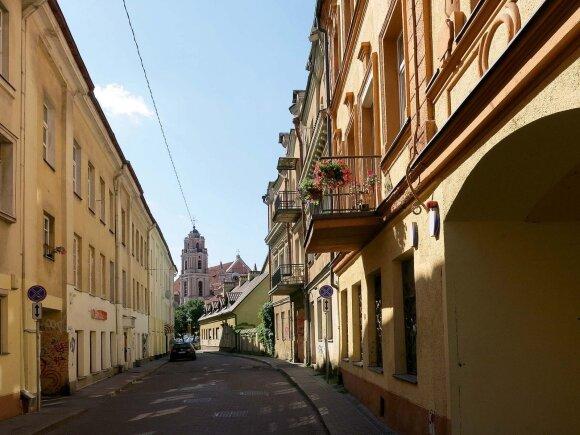 Šia gatve Nomeda dviratį mina beveik kasdien