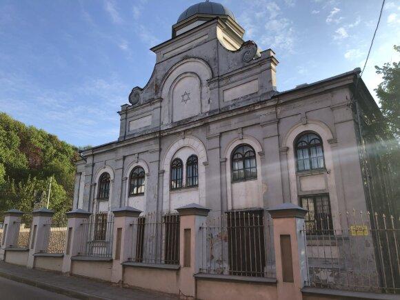 Kauno choralinė sinagoga (Žydų kultūros paveldo kelio asociacijos nuotr.)