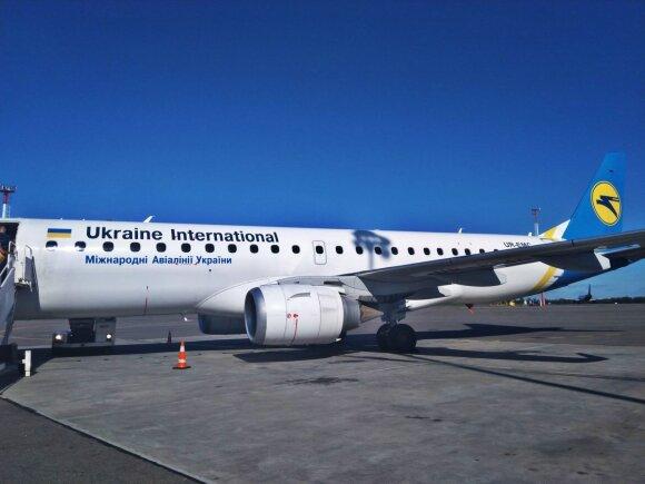 Lėktuvas, su kuriuo teko keliauti į Gruziją