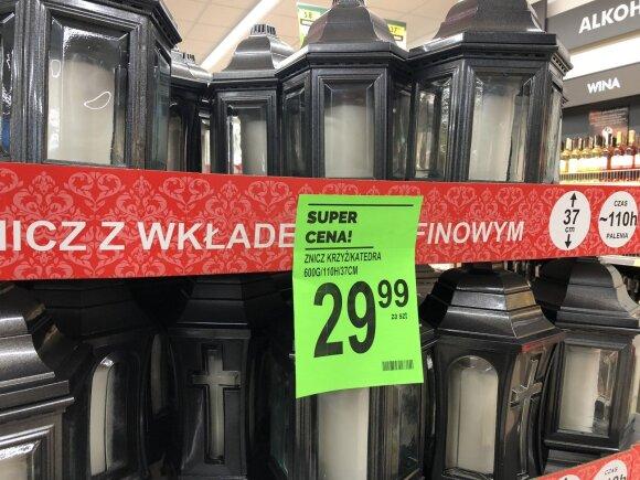Žvakutės Lenkijoje