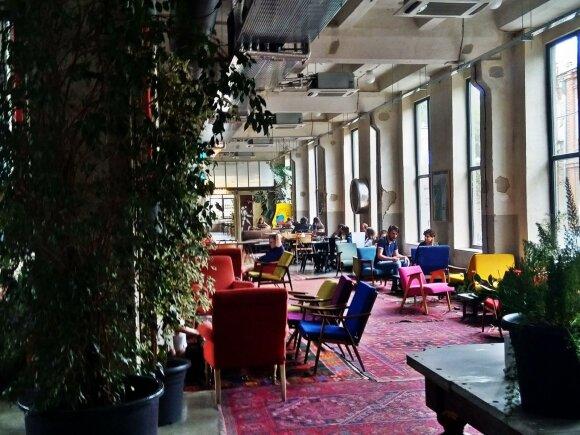 Viešbutis jaunimui, kuriame yra erdvė ne tik viešbučio klientams