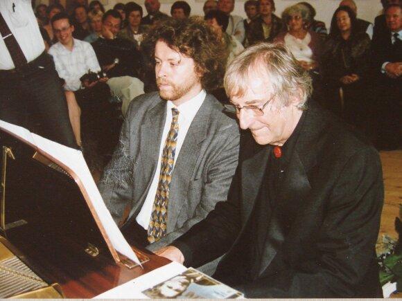 Rokas Zubovas ir M. K. Oginskio provaikaitis Iwo Zaluskis