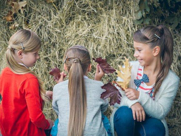 Stilingos šio rudens šukuosenos vaikams