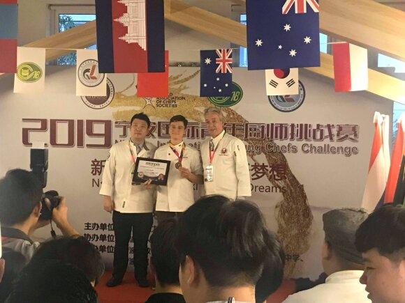 """Individualioje rungtyje """"NingBo Seafood"""" Erikas Janerikas laimėjo bronzos medalį"""