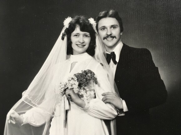 Rima Baškienė su vyru Raimondu