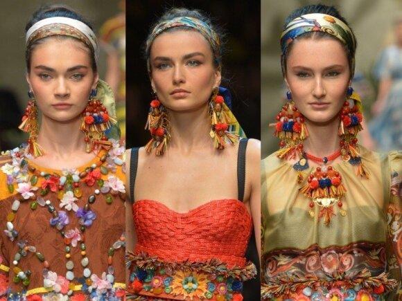 """Dolce & Gabbana"" modeliai"