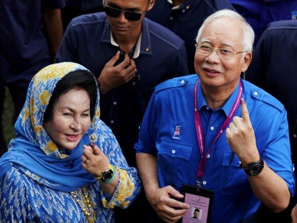 Rosmah Mansor, Najibas Razakas
