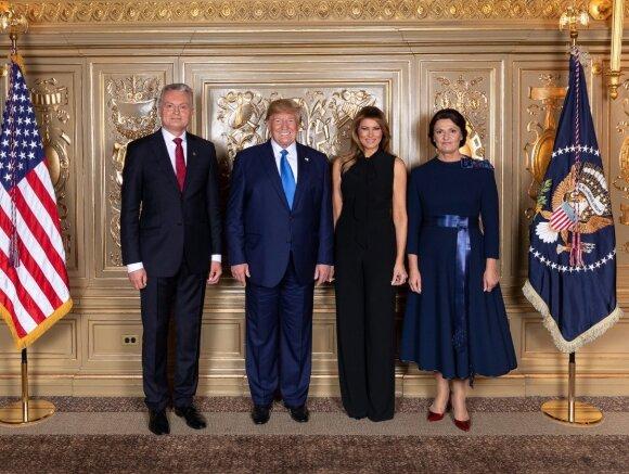 Специалист об имидже супруги президента Литвы: ее выбор был лучше, чем у Мелании Трамп