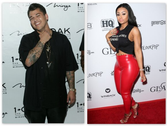 Rob Kardashian ir Black China