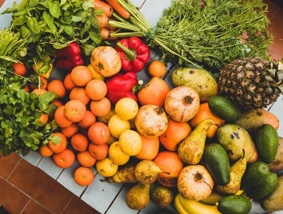Sezoninės daržovės ir vaisiai