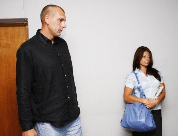 Gintaras Einikis ir Jurgita Einikienė