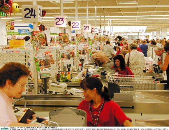 """Prekybos centras """"Wal-Mart"""" 1999"""