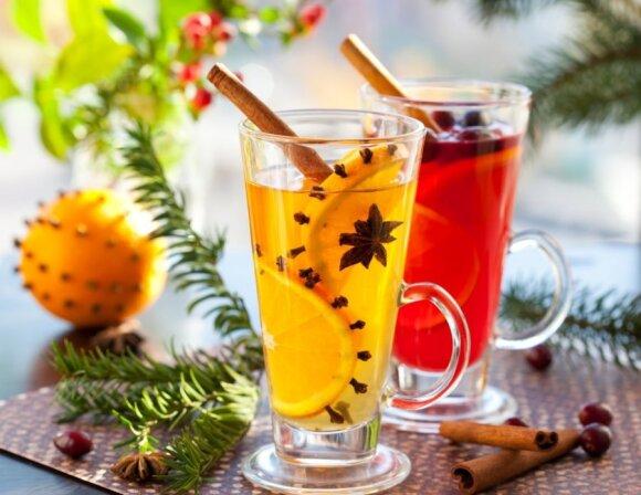 Šventinio dekoro idėjos su apelsinais