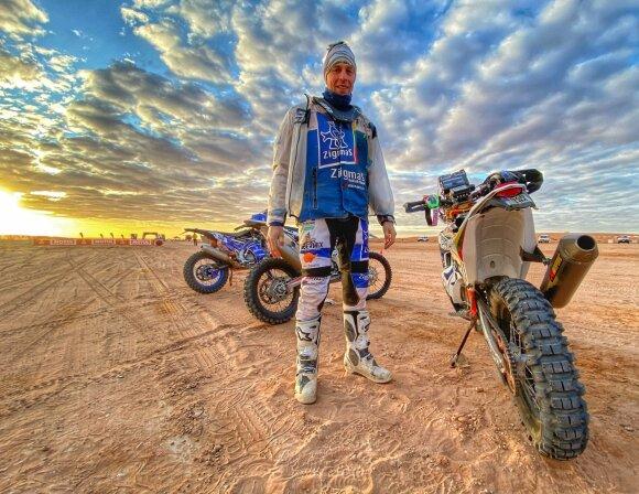 Arūnas Gelažninkas šeštąją Dakaro ralio dieną