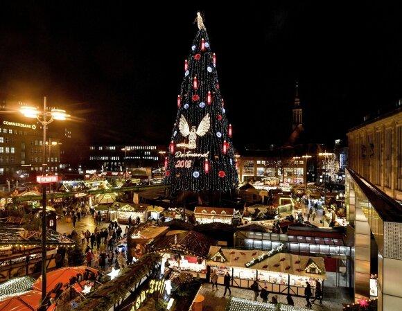 Kalėdų eglė Dortmunde