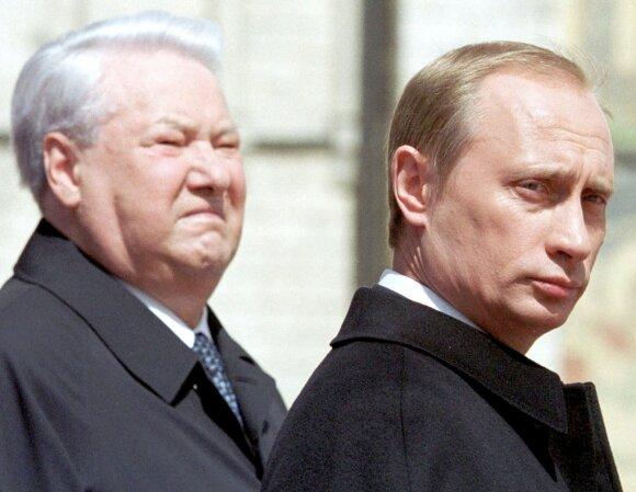 Borisas Jelcinas, Vladimiras Putinas