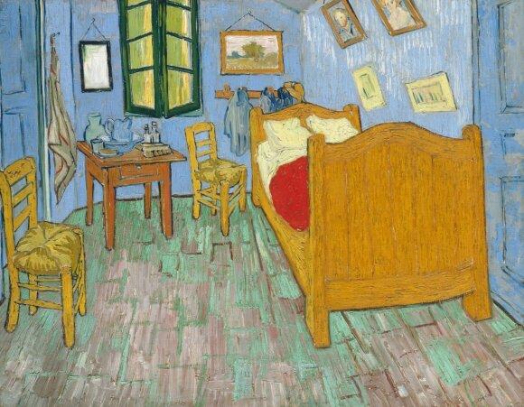 """V. van Gogho paveikslas """"Miegamasis"""""""
