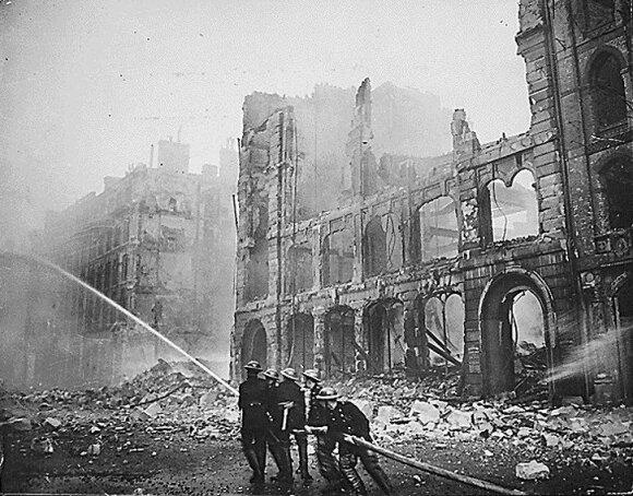 Subombarduotas Londonas