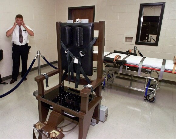 JAV atšaukė mirtiną injekciją kaliniui, pageidaujančiam egzekucijos elektros kėdėje