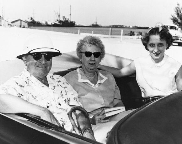 Harry Trumanas, Bess Truman su dukra