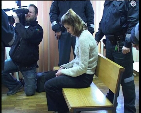 Alma Bružaitė teisme