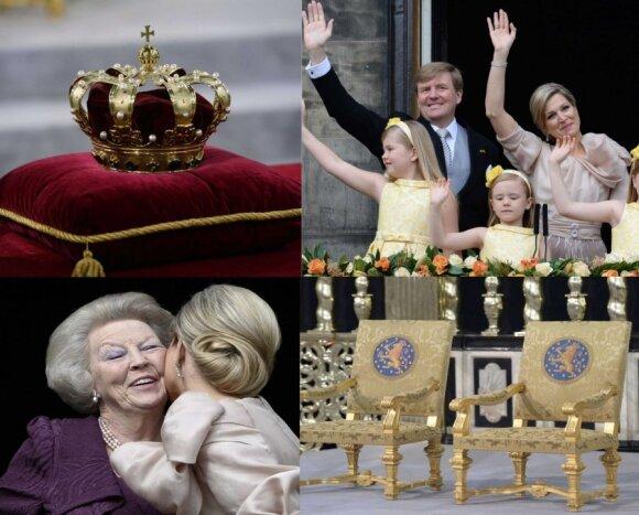 Nyderlandų karaliaus intronizavimas