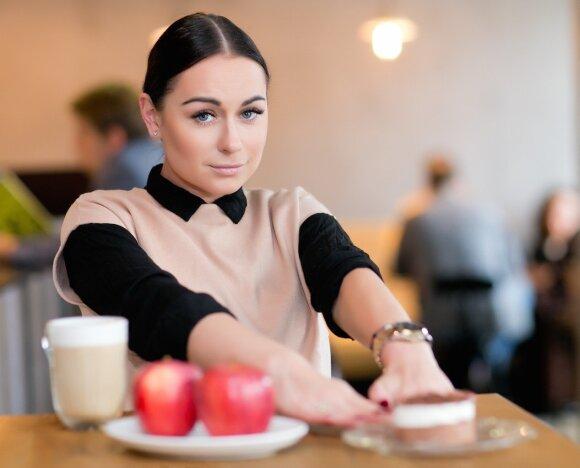 Simona Nainė: nuo šiol – tik vienas pyragėlis per mėnesį