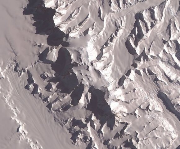 Vinsono masyvas (Antarktida) / NASA nuotr.