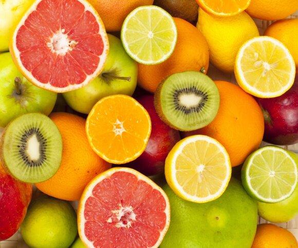 Dešimt maisto produktų, kuriuose vitamino C daugiau nei apelsinuose