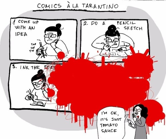 Comics: The ways of Tarantino